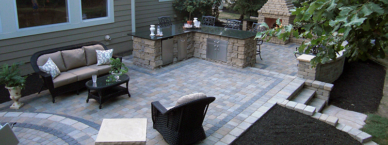 Delightful Distinctive Outdoor Concepts Patio Example